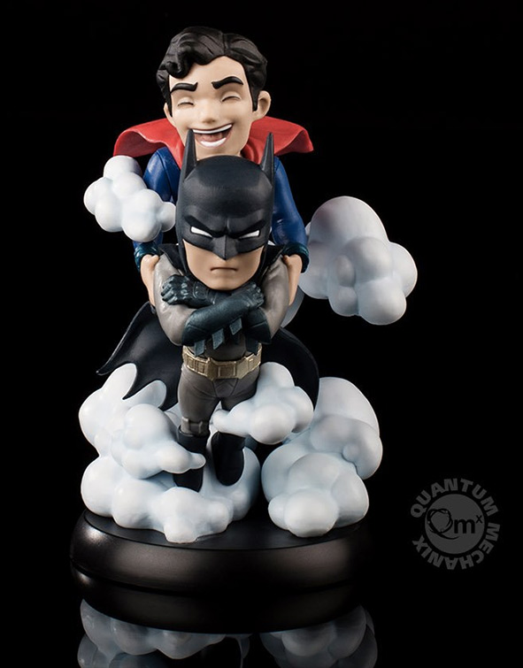 World's Finest Batman and Superman Q-Fig Max