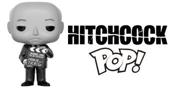 Boneco Pop! Sir Alfred Hitchcock, o Mestre do Suspense