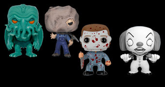 Bonecos Pop! Horror Exclusivos: Cthulhu, Jason, Michael Myers e Pennywise