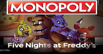 Jogo Monopoly Five Nights at Freddy's
