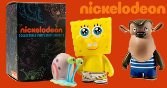 Mini-Figuras Kidrobot Nickelodeon Nick 90's Blind Box Série 2