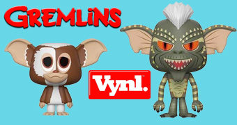 Dupla Gremlins VYNL: Gizmo + Stripe