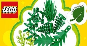 O Primeiro Kit LEGO Sustentável de Cana de Açúcar