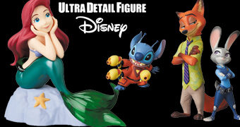 Bonecos Disney UDF da Medicom Toy Japão