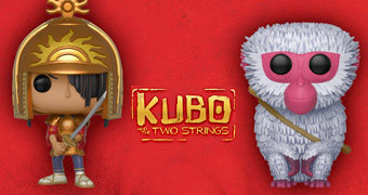 Bonecos Pop! Kubo e as Cordas Mágicas