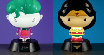 Luminárias DC Comics 3D Character