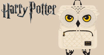 Mochila Edwiges, a Coruja-das-Neves de Harry Potter