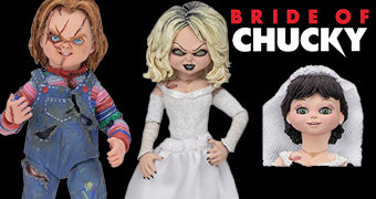 A Noiva de Chucky: Chucky & Tiffany Ultimate Action Figures