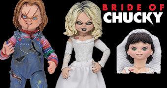 A Noiva de Chucky: Chucky & Tiffany Ultimate Action Figures