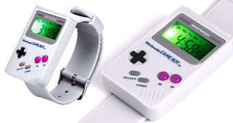 Relógio de Pulso Game Boy