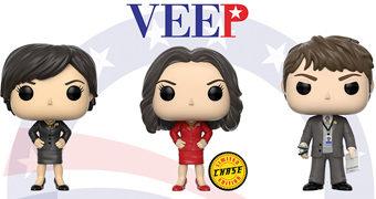 Figuras Pop! da Série Veep com Julia Louis-Dreyfus