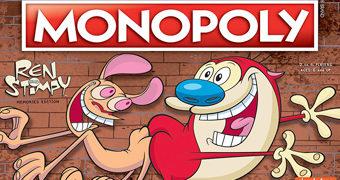 Jogo Monopoly Ren and Stimpy