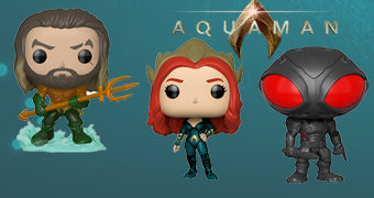 Bonecos Pop! do Filme Aquaman