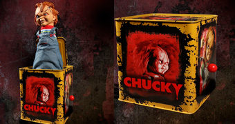 Chucky Burst-A-Box (Jack-In-The-Box) do Brinquedo Assassino