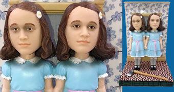 As Gêmeas Grady de O Iluminado em Versão Bobble Head