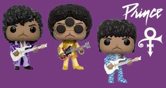 Bonecos Pop! do Artista Anteriormente Conhecido como Prince!