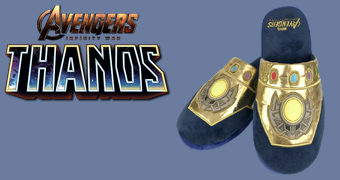 Chinelos Manopla do Infinito Thanos Slippers