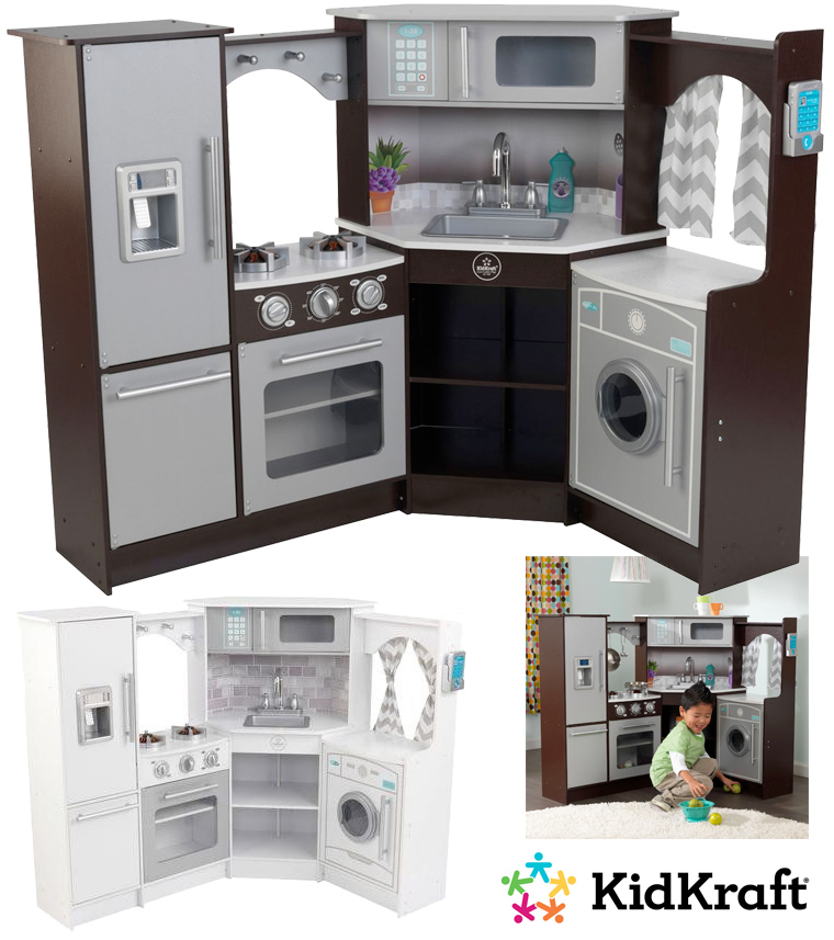 Realistic Play Kitchen Ultimate Corner With Lights And: Cozinha-Brinquedo « Blog De Brinquedo