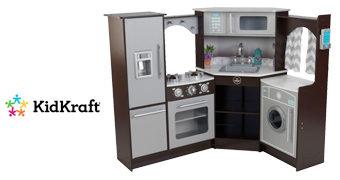 Cozinha de Brinquedo Ultimate Corner Play Kitchen com Luzes e Sons