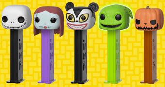Porta-Balas Pez The Nightmare Before Christmas (O Estranho Mundo de Jack)