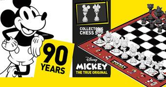 Xadrez Mickey Mouse 90 Anos!
