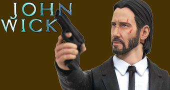 "Action Figure John Wick Select Line 7"" (Keanu Reeves)"