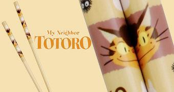 Hashis Catbus Chopsticks de Meu Amigo Totoro (Hayao Miyazaki)