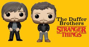 Bonecos Pop! Directors: Os Irmãos Duffer (Stranger Things)