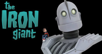 Busto do Gigante de Ferro (Iron Giant)