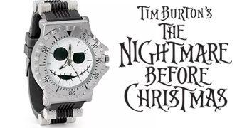 Relógio de Pulso Jack Skellington (Nightmare Before Christmas)