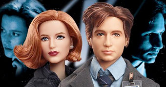 Bonecas Barbie Arquivo X (The X-Files): Mulder e Scully