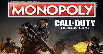 Jogo Monopoly Call of Duty: Black Ops