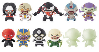 Chaveiros 3D Figural Keyrings Marvel Zombies (Zumbis Marvel)