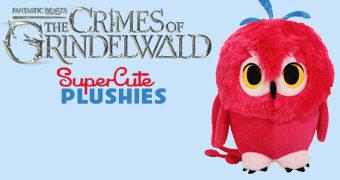 Fwooper, o Pássaro Mágico de Pelúcia (Animais Fantásticos: Os Crimes de Grindelwald)