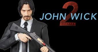 John Wick Chapter 2 MAFEX (Keanu Reeves) Action Figure Medicom
