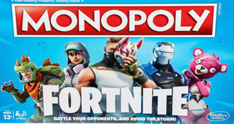 Monopoly do Game Fortnite