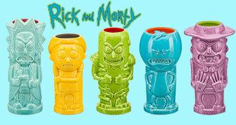 10 Canecas Rick and Morty Geeki Tikis Mugs!