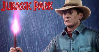 Estátua Perfeita Dr. Alan Grant (Sam Neil) 1:4 Jurassic Park