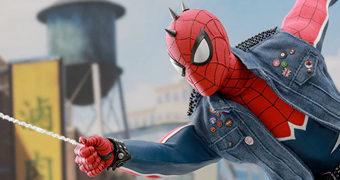 Spider-Punk Marvel's Spider-Man Game – Action Figure 1:6 Hot Toys