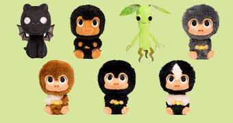 Bonecos de Pelúcia Animais Fantásticos: Os Crimes de Grindelwald SuperCute