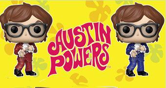 Bonecos Pop! Austin Powers: Um Agente Nada Discreto