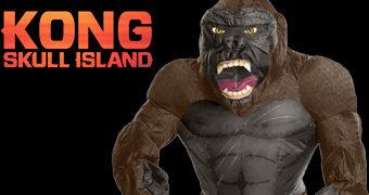 Fantasia Inflável King Kong
