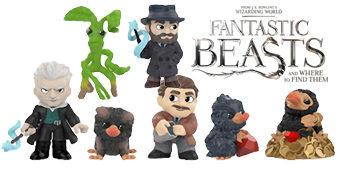 Animais Fantásticos: Os Crimes de Grindelwald Mystery Minis – Mini-Figuras Funko Blind-Box