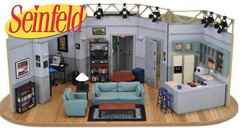 Réplica Miniatura do Apartamento de Jerry Seinfeld