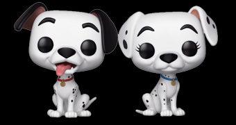 Bonecos Pop! 101 Dálmatas: Pongo & Perdita
