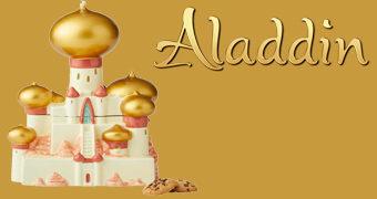 Pote de Cookies Disney Aladdin: Palácio do Sultão de Agrabah