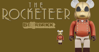 Bonecos Rocketeer Be@rbrick (100% & 400%)