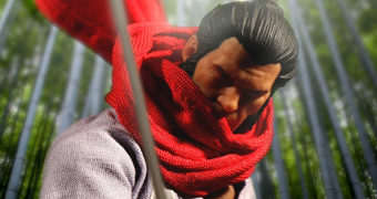 Action Figure Wolverine 5 Ronin One:12 Collective da Mezco