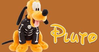 Pluto de Pelúcia Fantasiado de Esqueleto (Halloween 2018)