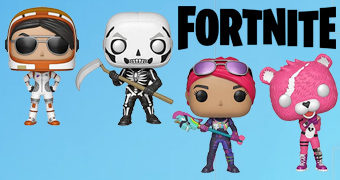 Bonecos Pop! do Game Fortnite